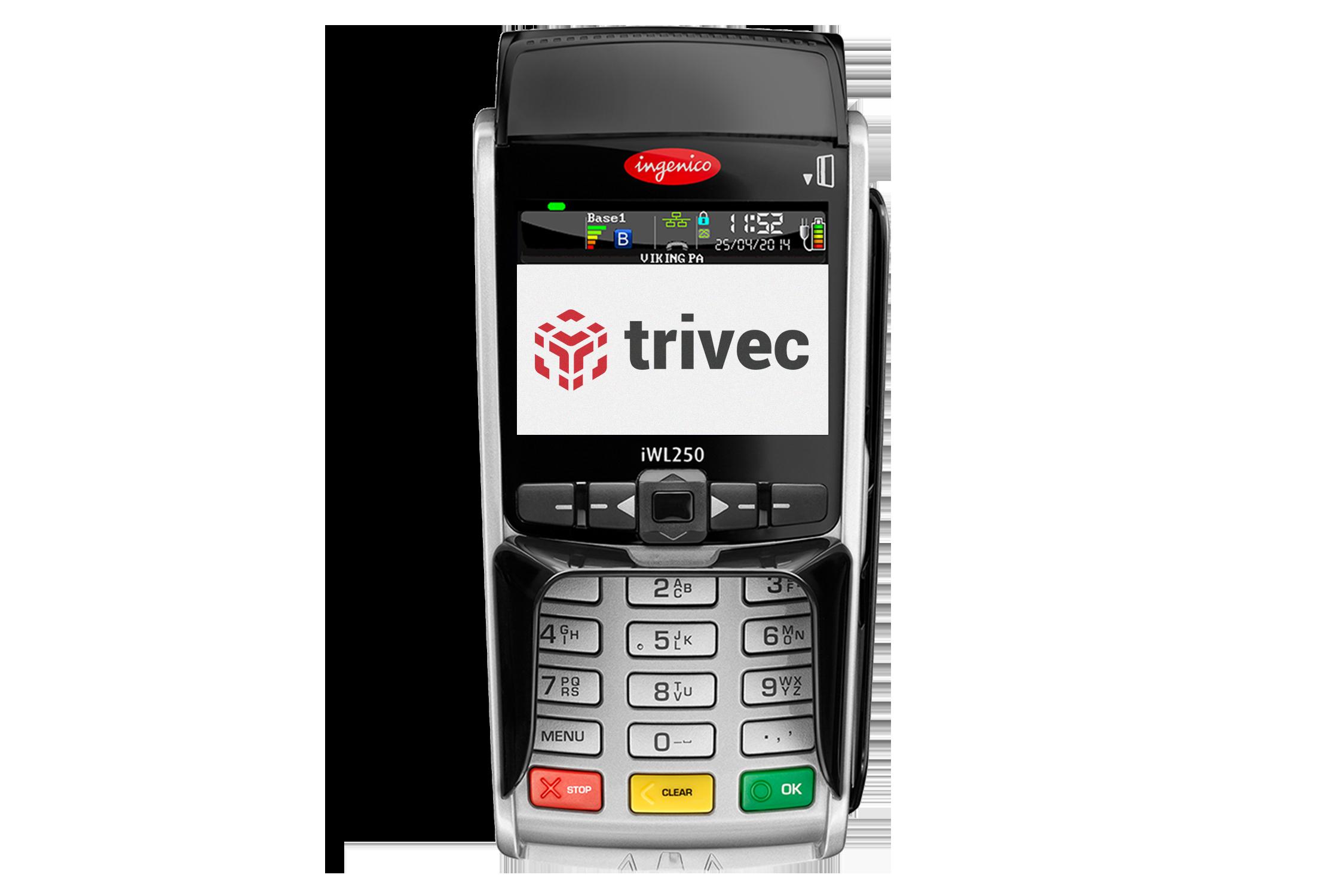 Card Terminal Trivec mobile