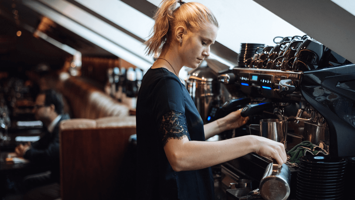 Control of coffee and soda machines
